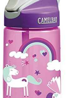 CamelBak Kids Eddy Water Bottle, 0.4 L, Unicorns