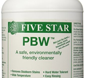 Five Star PBW Cleaner Powdered Brewery Wash, 4-Pound Jar