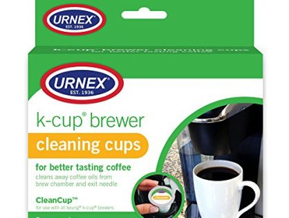 Urnex Keurig K-Cup Machine Cleaner, 5 Pods packaging may vary