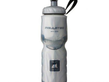 Polar Bottle Insulated Water Bottle 24-Ounce White