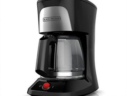 BLACK+DECKER CM0555B 5-Cup Coffeemaker, Black