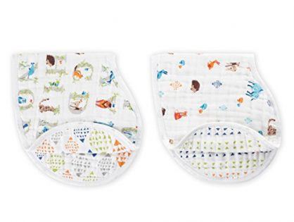 aden + anais burpy bib 2 pack, paper tales