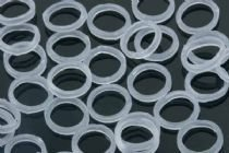 """Clear - 1/4"""" X-Heavy 6 Oz. - Orthodontic Elastic -For Braces - Dental Rubber Bands"""