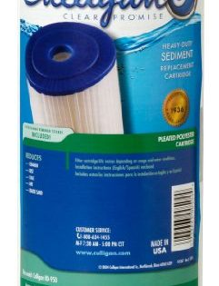 Culligan R50-BBSA Level 1 50 Micron Heavy Duty Sediment Replacement Cartridge