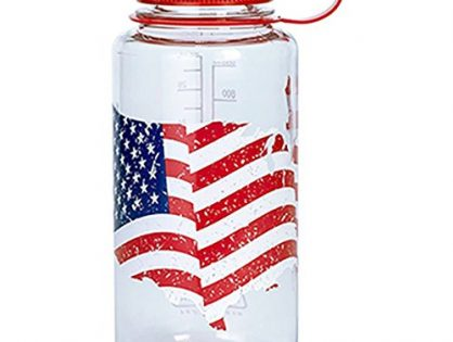 Nalgene 32-Ounce Wide Mouth, Usa Flag