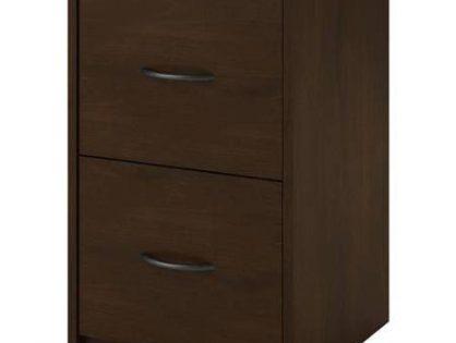 2-Drawer Holds Letter Size Folders, Composite Wood Construction File Cabinet, Resort Cherry