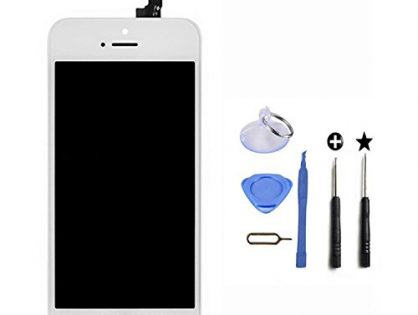 LCD Touch Screen Digitizer Replacement Full Assembly for iPhone 5S With Free Tools Kit For iPhone 5S White