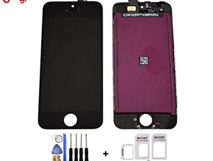 for iPhone 5S Full Set LCD Screen Replacement Digitizer Assembly Display Touch Panel Black