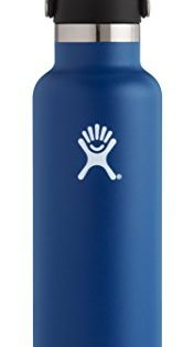 Hydro Flask 24 oz Double Wall Vacuum Insulated Stainless Steel Leak Proof Sports Water Bottle, Standard Mouth with BPA Free Flex Cap, Cobalt