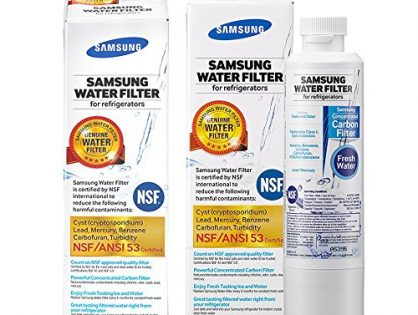 Samsung Genuine DA29-00020B Refrigerator Water Filter, 2 Pack