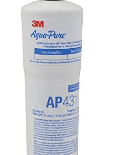 Aqua-Pure AP431 Scale Inhibition Replacement Cartridge, Easy Change High Capacity Water Filter for AP430SS