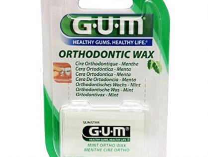 GUM Orthodontic Wax Mint 724 1 Each Pack of 12