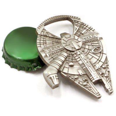 New! - Star Wars Millenium Falcon Metal Bottle Opener