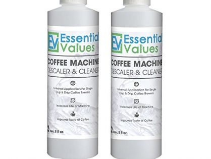 Keurig Descaler 2 PACK, Universal Descaling Solution For Keurig, Delonghi, Nespresso Descaling And All Single Use, Coffee Pot & Espresso Machines By Essential Values