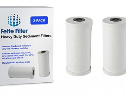 GE FXHTC Compatible Premium Heavy Duty Sediment Replacement Cartridge. Also Replaces Culligan RFC-BBSA - 2-Pack