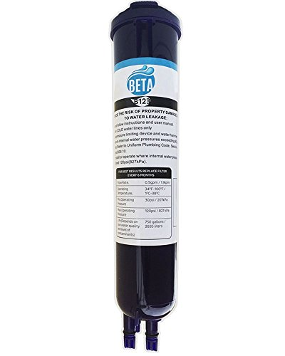 PuriWater Whirlpool Water Filter 4396841 EDR3RXD1 4396710 46-9030 Kenmore Pur Sears Refrigerator Water Filter 3 Push Button