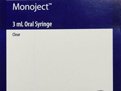 Monoject Oral Syringe 3ml Clear - Box of 100