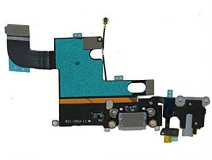 "Brand New iPhone 6 4.7"" USB Charging Port Conector Ribbon Flex Cable Grey"