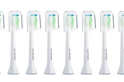 Sonifresh Toothbrush Heads, DiamondClean Sonic Replacement Heads For Philips Sonicare Electric Toothbrush, 8 Pack