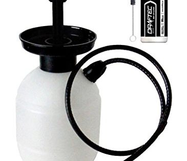 Draftec Deluxe Hand Pump Pressurized Keg Beer Kegerator Cleaning Kit w/ 32 oz. Cleaner Clear