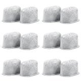 Charcoal Water Filters Replacements Fits Keurig 2.0 Models by Possiave- Easy to replace-Removes Chlorine, odors, and others impurities from Water-Pack of 12-White