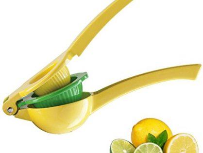 Manual Citrus Press Juicer - Top Rated Zulay Premium Quality Metal Lemon Lime Squeezer