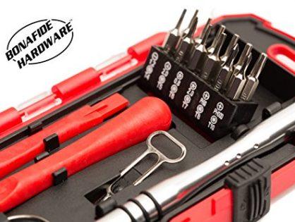 Smart Phone Repair Tool Kit 17 Piece Set Screw Driver Torx Pentalobe Cell Tools - Bonafide HardwareTM