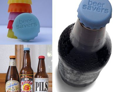 Beer Savers - Silicone Rubber Bottle Caps by KegWorks