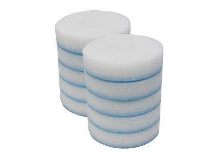Mr. Clean 240546 Magic Eraser Toilet Scrubber Refill Discs, 10-Count