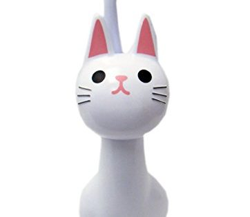 NEW Toilet Brush Cat White From Japan