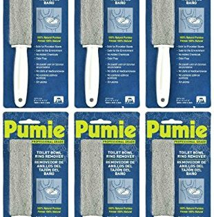 6 Pack - Pumie Toilet Bowl Ring Remover #TBR-6
