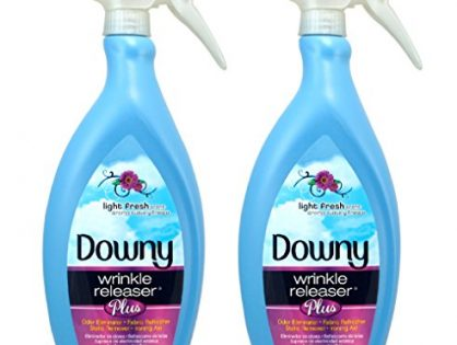 Downy Wrinkle Releaser Plus, Light Fresh Scent, 33.8 Fluid Ounce Pack of 2
