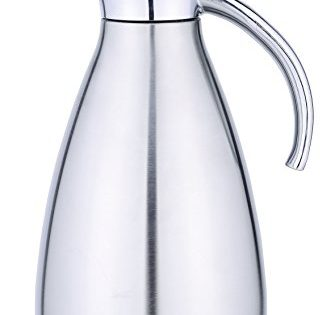 Unbreakable Double Wall Vacuum Insulated Jug for Coffee or Hot & Cold Drinks - COOX 1.5L Stainless Steel Thermal Carafe Pitcher