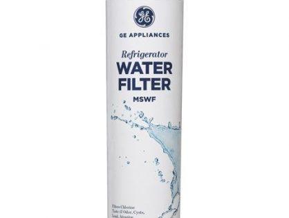 GE MSWF Refrigerator Water Filter, 1 Pack