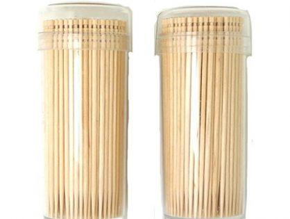 """Gmark Premium 4"""" Kokeshi Toothpicks Skewers 500ct 2 Packs of 250 GM1034"""