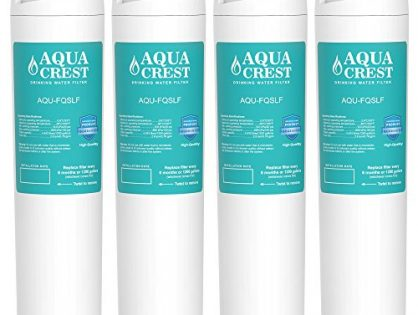 AQUACREST FQSLF Replacement for GE FQSLF Undersink Water Filter2 Set