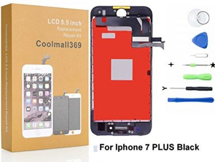 iphone 7 Plus Screen Replacement For Lcd Touch Screen Digitizer Frame Assembly Set With 3D Touch Black