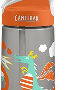 CamelBak Eddy Kids Back To School Water Bottle, Dragon, 0.4 L