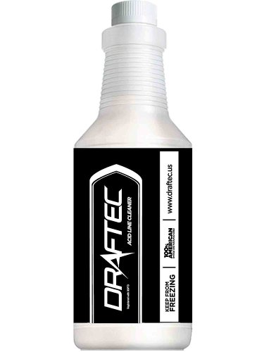 Draftec Draft Beer Line Acid Line Cleaner 32 oz