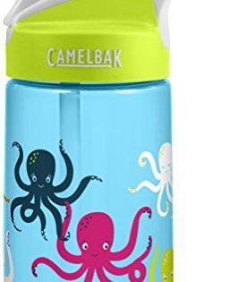 CamelBak Eddy Kids Back To School Water Bottle, Octopus, 0.4 L