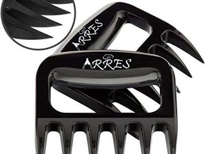 BBQ Grill Tools and Smoking Accessories for Carving, Handling, Lifting - Arres Original Pulled Pork Claws & Meat Shredder
