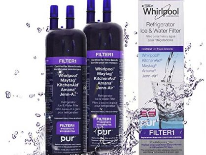 Set of 2 Whirlpool W10295370A, Filter 1 Refrigerator Water Filter