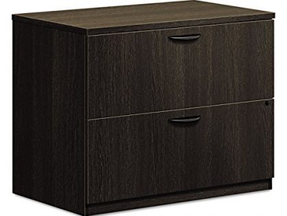 """HON BL Series Lateral File , 2 Drawers , 35-1/2""""W x 22""""D x 29""""H , Espresso Finish"""