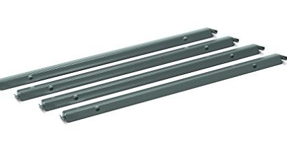 "4 per Carton H919491 - HON Accessories - Single Front-to-Back Hangrails for 30"" and 36"" Lateral Files"