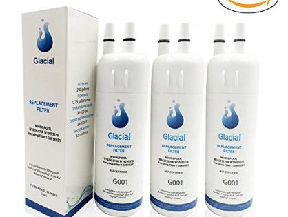 Glacial Pure Refrigerator Water Filter for Whirlpool