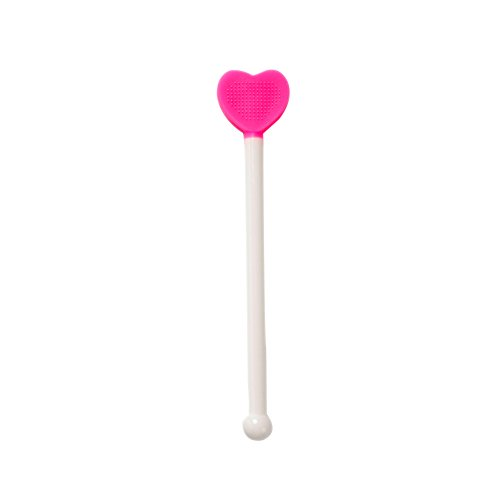 Easyinsmile Heart Shaped Tongue cleaner Scrapers Oral Care Product Also fit for Kids