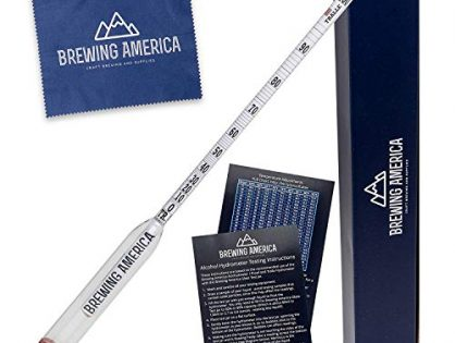 Made in America… - Alcohol Hydrometer Tester 0-200 Proof & Tralle Pro Series Traceable - Distilling Moonshine Meter