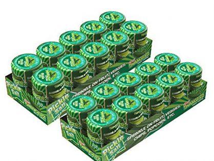 Twangerz Snack Topping, Pickle Salt, 1.15-Ounce Shaker pack of 20