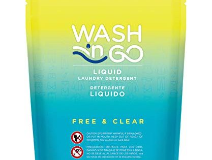 Wash 'n Go Liquid Detergent Singles Free & Clear, 100 Count x 2 200 Count Total