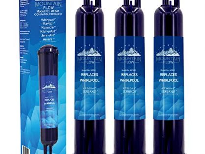 Replacement for Whirlpool Water Filter, 4396841 Water Filter, 4396841 Water Filter, EDR3RXD1, Filter 3, Kenmore 46-9083,Kenmore 46-9030 ,3-Pack
